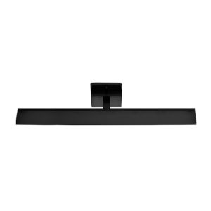 Tabiano Matte Black Three-Light LED Bath Vanity