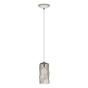 Estevau Satin Nickel Five-Inch One-Light Mini Pendant