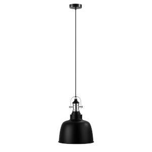 Gilwell Matte Black 10-Inch One-Light Pendant