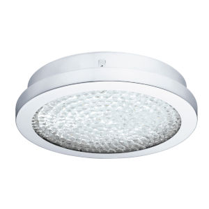 Arezzo 2 Chrome LED Flush Mount