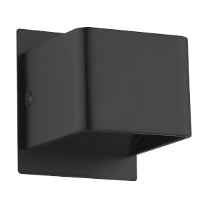 Sania 3 Black Four-Inch 5.6Watt LED Wall Sconce