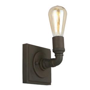 Wymer Matte Bronze One-Light Wall Sconce