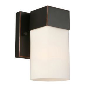 Ciara Springs Oil Rubbed Bronze One-Light Wall Sconce