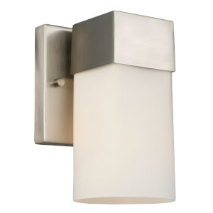 Ciara Springs Brushed Nickel One-Light Wall Sconce
