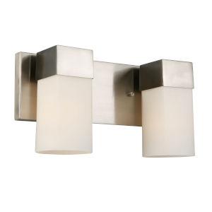 Ciara Springs Brushed Nickel Two-Light Vanity
