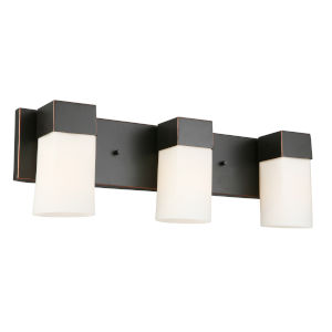 Ciara Springs Oil Rubbed Bronze Three-Light Vanity