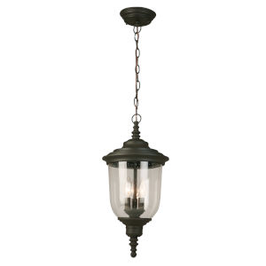 Pinedale Oil Rubbed Bronze Three-Light Outdoor Pendant