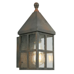 Creston Creek Zinc One-Light Outdoor Wall Mount