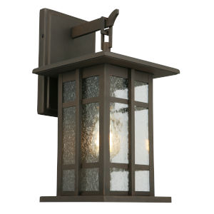 Arlington Creek Matte Bronze One-Light Outdoor Wall Mount