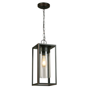 Walker Hill Oil Rubbed Bronze One-Light Outdoor Pendant