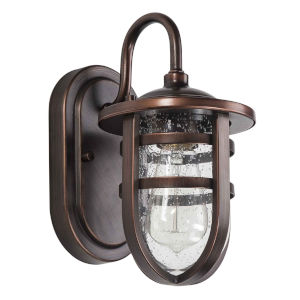 Strathclyde Oil Rubbed Bronze One-Light Outdoor Wall Sconce