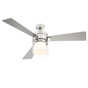 Casou Brushed Nickel 52-Inch Ceiling Fan