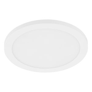 Trago 9 White Nine-Inch One-Light LED Flush Mount