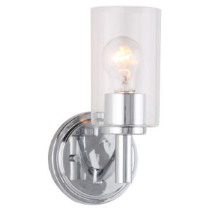 Devora Chrome Six-Inch One-Light Wall Sconce