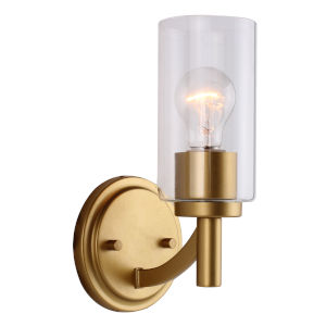 Devora Antique Gold Six-Inch One-Light Wall Sconce