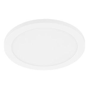 Trago White 9-Inch LED Flush Mount