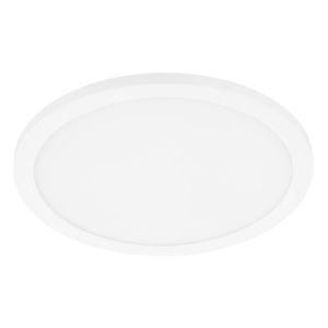 Trago White 12-Inch LED Flush Mount