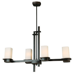 Vlacker Bronze Four-Light Pendant