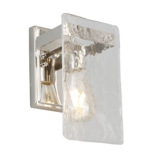 Wolter Polished Nickel One-Light Wall Sconce