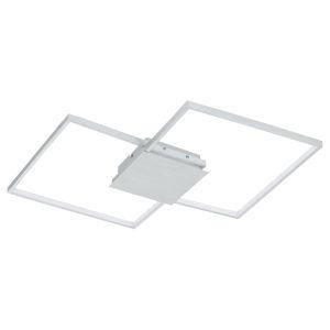 Milanius Silver 30-Inch LED Flush Mount