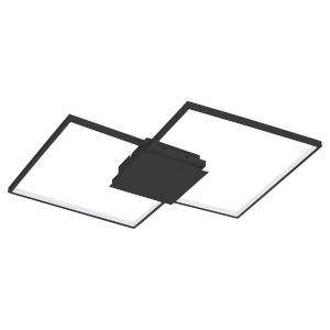Milanius Black 30-Inch LED Flush Mount