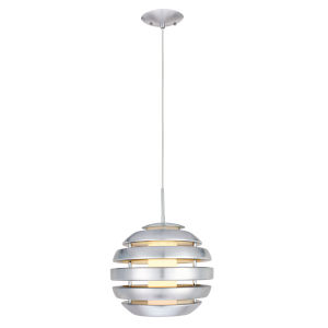 Mercur 1 Silver One-Light Pendant