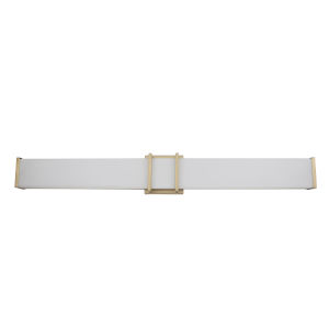 Tomero Gold 35-Inch LED Bath Vanity