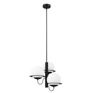 Sabalete Black Three-Light Pendant