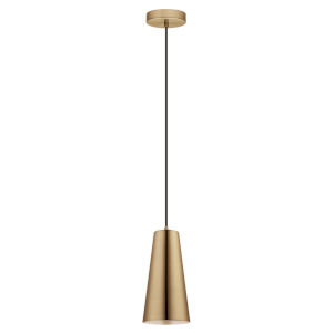 Pratella 1 Gold One-Light Mini Pendant
