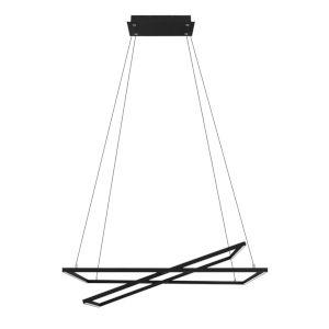 Tamasera Black 16-Inch LED Pendant