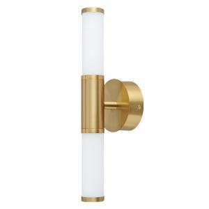 Palmera 1 Gold Two-Light LED Bath Vanity