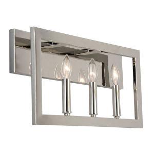 Jordan Silver Three-Light Bath Vanity