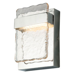 Madrona Silver LED Outdoor Wall Sconce