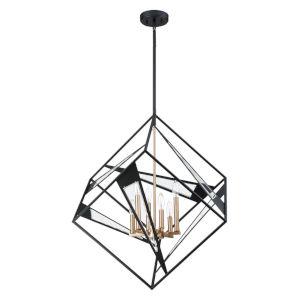 Corrietes Black Six-Light Pendant