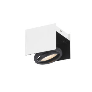 Vidago Black and White Five-Inch LED Track Light