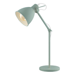 Priddy-P Green One-Light Desk Lamp