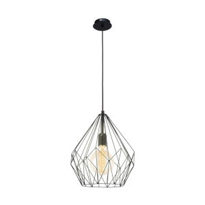 Carlton Black One-Light Pendant