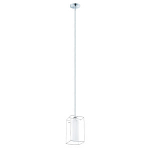 Loncino 1 Chrome One-Light Mini Pendant
