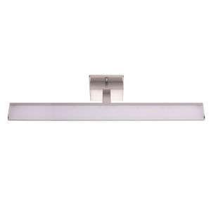 Tabiano Silver Three-Light LED Bath Vanity