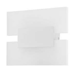 Metrass 2 White Two-Light LED Wall Sconce