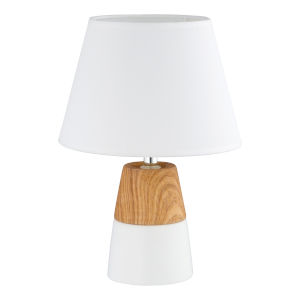 Sorita White One-Light Table Lamp