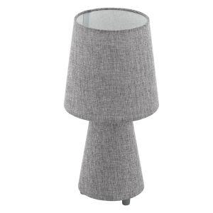 Carpara Gray Two-Light Table Lamp