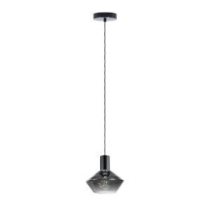 Ponzano Black Chrome One-Light Mini Pendant