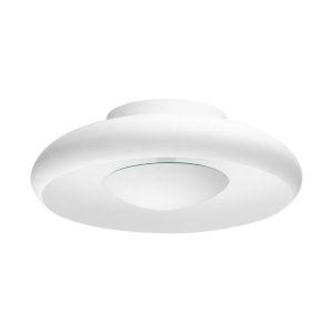 Meldola White 18-Inch LED Flush Mount