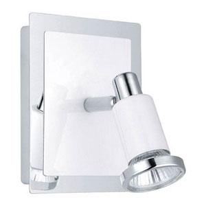 Manning Chrome and Shiny White LED Spot Light