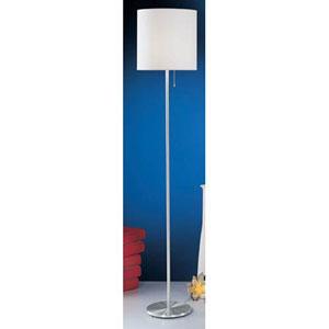 Nore Aluminum One-Light Shaded Floor Lamp