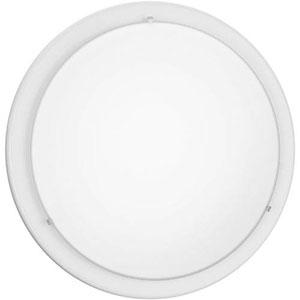 Brink White One-Light Flush Mount