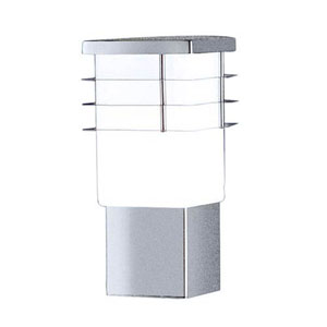 Alexander Stainless Steel One-Light Outdoor Wall Lantern