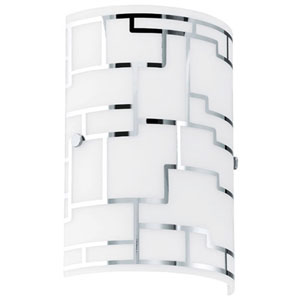 Chloe Chrome One-Light Wall Sconce