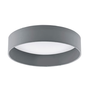 Palms Black 13-Inch LED Flush Mount